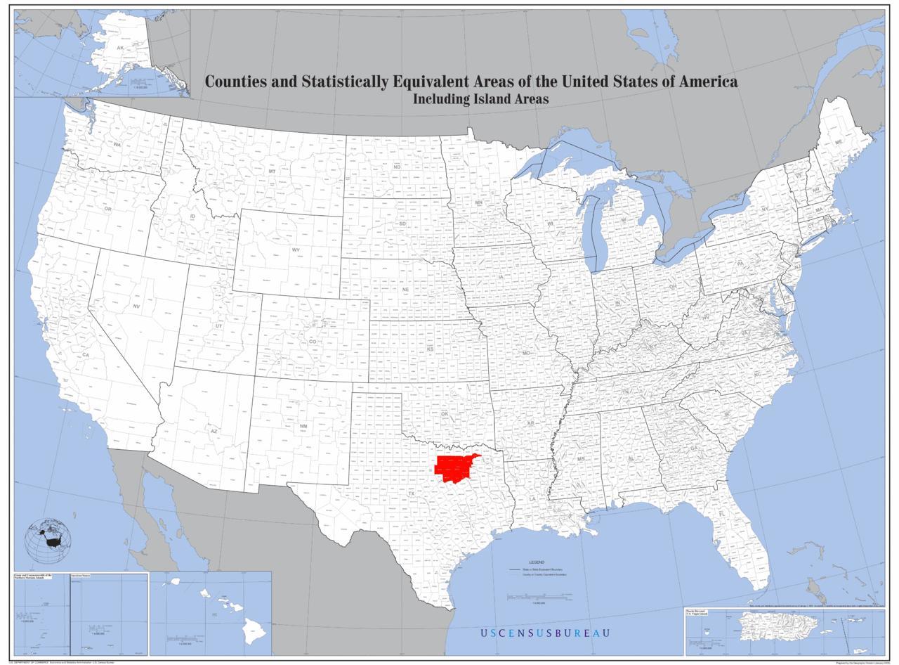 Dallas Karte der usa - Dallas auf der Karte von usa (Texas - USA) on