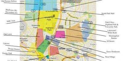 Kriminalität Karte anzeigen Dallas - Dallas Kriminalität ...